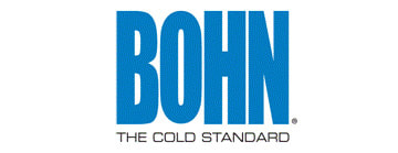For more than 50 years, Bohn has been a leader in products built for the supermarket, grocery store, restaurant and retail industries. Featuring a strong focus on innovation and the environment, Bohn offers cutting-edge technologies and outstanding efficiencies backed by world-class service and technical support.  Bohn provides an unmatched selection of precisely engineered systems and responsive customer service. Whether you're upgrading your current system, replacing old equipment or starting from the ground up, you can count on Bohn for reliable, quiet performance, as well as energy savings and lower overall operating costs.